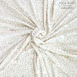 Badstof Stretch | Confetti - Groen