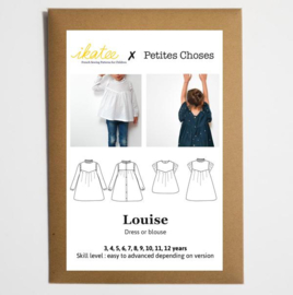 Ikatee Pattern | Louise | blouse & dress - Girl 3/12