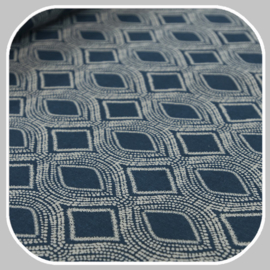 deco  print  | petrolblauw  |  eclipse fantasie