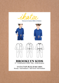 Ikatee Pattern | Brooklyn Kids Jumpsuit - Kids 3/12Y