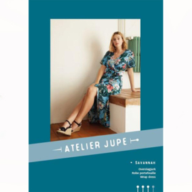 Atelier Jupe | Savannah wrap dress - Paper pattern