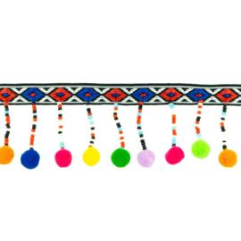 kralenband | peru pompon