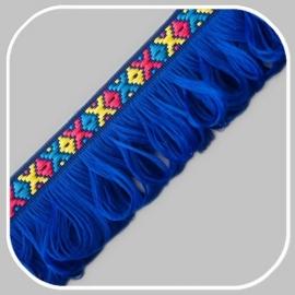 indianen band blauw/ 40 mm
