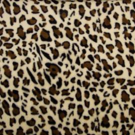 Imitatiebont Leopard -  Beige - Brown