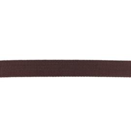 Tassenband Polypropylene | Chocoladebruin  -  25mm