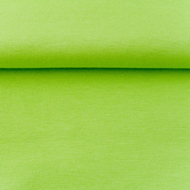tricot boordstof | licht lime