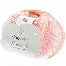 Rico Design |Baby Dream  dk - Luxury touch | Roze - Beige 012