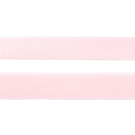 klittenband | lichtroze  breedte 20 mm