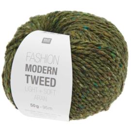 Rico Design   Fashion Modern Tweed Aran -  Olive