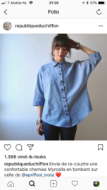 Republique du Chiffon | Myrcella shirt | Engelstalig