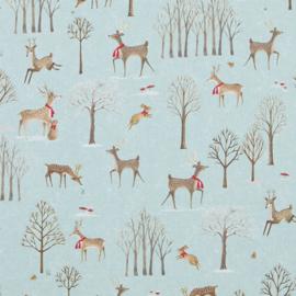 Decostof - Katoen -  Holiday Deer