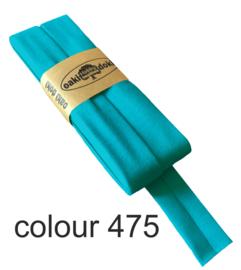 Tricot biaisband | Aqua  | col. 475