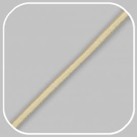 elastiekkoord -beige  /  ±Ø 3mm