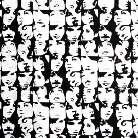 Alexander Henry Fabrics | Pop Art - Black & White