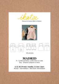 Ikatee Pattern | MADRID jumpsuit / playsuit - Baby 6M/4Y