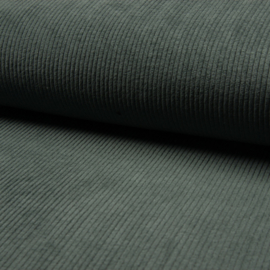 Corduroy Brede Rib | Stretch | Dusty Green 023