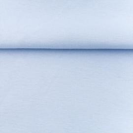 tricot boordstof uni | lichtblauw