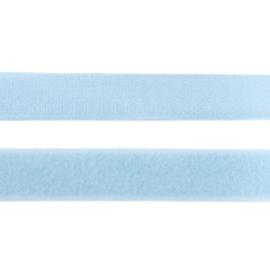 klittenband | licthblauw breedte 20 mm