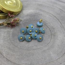 Atelier Brunette  Buttons |  Jewel - Storm   9 mm
