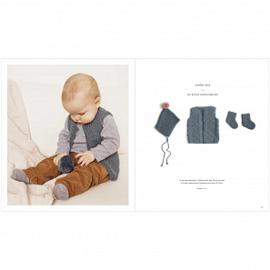 Rico Design | Baby Dream Uni - a luxury touch  | Jeansblauw 011