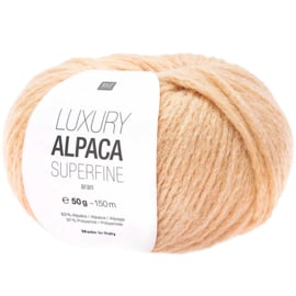 Rico Design - Luxury Alpaca Superfine Aran - Apricot 020
