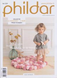 Phildar nr. 159 | herfst - winter 18/19 | 6 maanden - 4 jaar