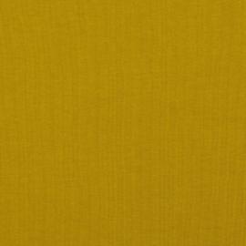 Tricot soft Sweat  | Biologische Katoen |  Ochre