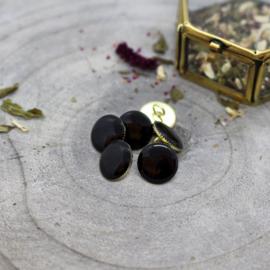 Atelier Brunette | Gem Buttons - Black 12 mm