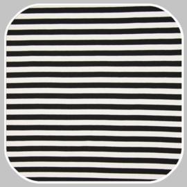 Punta streep    Q11056-469  wit zwart