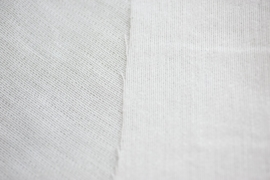plakvlies lamine wit