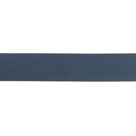 Elastiek Uni | 4 cm | Donker Jeans