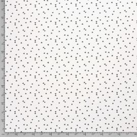 deco  print  | Wit  |  driehoekjes