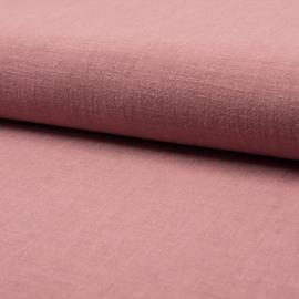 Linnen Stonewashed | Dark old Pink 214-012