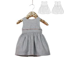 IKATEE   Roma  Dress - Baby Girl 6-24M - Paper Sewing Pattern