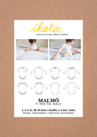 Ikatee | Malmö Bodysuit - Baby 1M/4Y - Paper Sewing Pattern