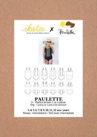Ikatee Pattern | PAULETTE swimsuit - Girl 3/12