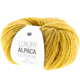 Rico Design - Luxury Alpaca Superfine Aran - Ochre 011