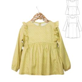 Ikatee Pattern | Stella | Blouse & Dress - Girl 3/12 yr