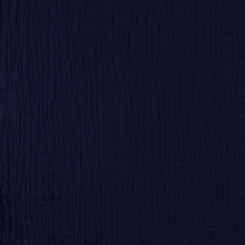 Double Gauze |  Baby Cotton- 005 | Navy