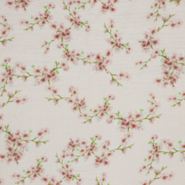 Double Gauze | GOTS | Blossom - Pink