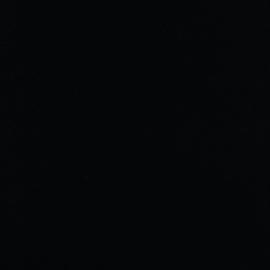 Boordstof - GOTS - Black 001