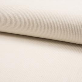 Corduroy Brede Rib | Stretch | Ecru 051
