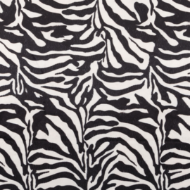 Decostof Velvet | Zebra animal skin