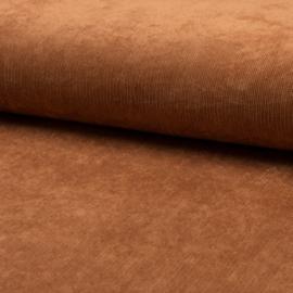 Ribcord stretch 3% | Cognac - 056