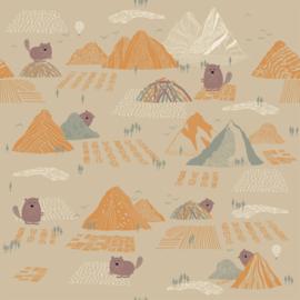 Katia - Soft Shell - Beaver and Mountains