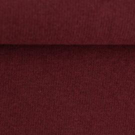 Swafing Knit Fabric - Bono - Dark Red