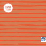 About Blue Fabrics | French Terry | Good Vibes only - Flame Lines