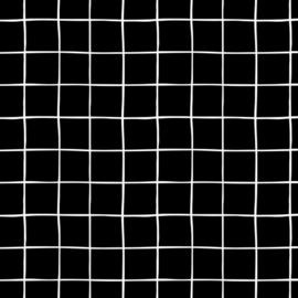 Soft Sweat GOTS | Grid - Black