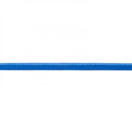Paspelband elastisch | Kobaltblauw