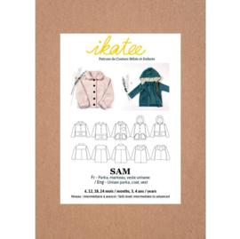 Ikatee Patterns - SAM - parka, jacket - Unisex 6m/4y